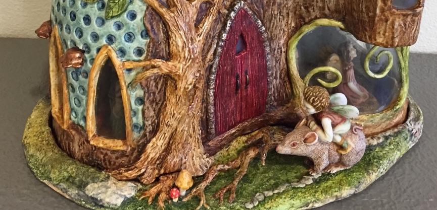 Diane's Fairy House 2018