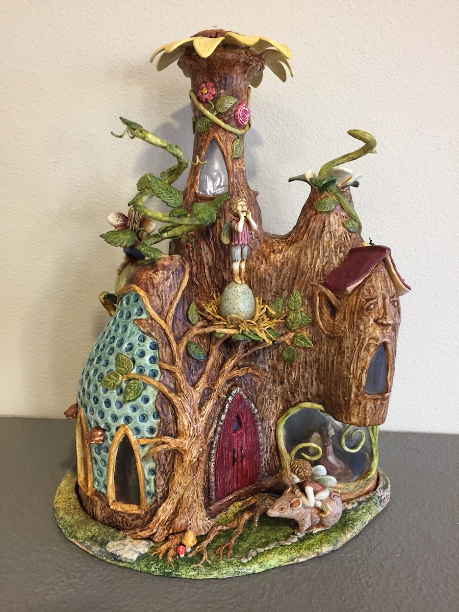 Diane's fairy house